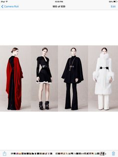 One of my favorite sets pre fall 2013 Alexander MQueen