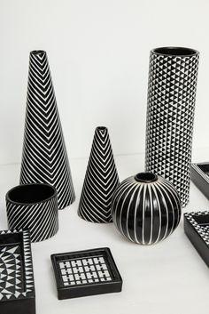 Ideas kitchen scandinavian retro stig lindberg for 2019 Rustic Ceramics, Modern Ceramics, Porcelain Ceramics, Ceramic Pottery, Stig Lindberg, Round Vase, Wheel Thrown Pottery, Pottery Designs, Ceramic Artists
