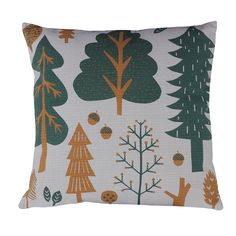 Donna Wilson – Forest Cushion – Grey – Front