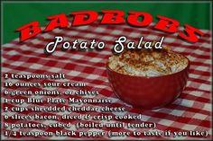 Bad bobs potato salad