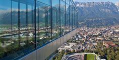 Rampa del Salto Bergisel, geniales vistas de Innsbruck - http://www.absolutaustria.com/rampa-del-salto-bergisel-geniales-vistas-de-innsbruck/
