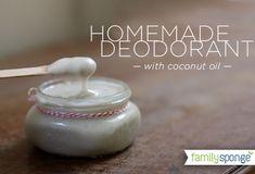 Homemade deodorant with coconut oil! #crueltyfree #vegan