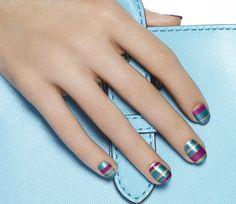 Candyshine - Sweet Pearlescent Nail Art Design - Essie Nail Polish Looks