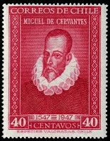 Miguel de Cervantes (1547- 1616) Sello de Chile