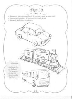 Cunoasterea Mediului - 3-5 Ani Montessori, Transportation, Bullet Journal, Education, School, Kids, Young Children, Boys, Children