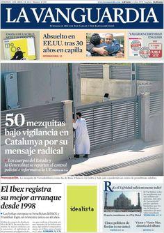 Diario LA VANGUARDIA del 5 de Abril 2015 Recordamos que pueden visualizar cada día las principales portadas titulares ocurridos en España - Catalunya - Barcelona en http://www.youtube.com/vendopor