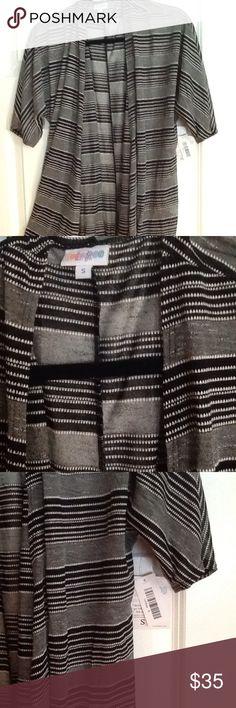 LuLaRoe Lindsay Kimono Size small, brand new with tags LuLaRoe Tops