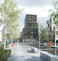 LAN 40 Housing UnitsParis - ZAC Saussure Pont Cardinet, France
