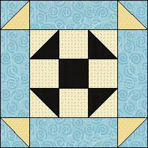 Block of Day for February 02, 2017 - Shoofly Delight strip-piecing-The pattern may be downloaded until: Tuesday, February 28, 2017.