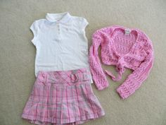 New Girls Pageant Casual/School Wear size 7/8: 3 Piece Set