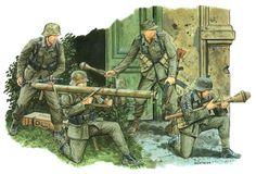 .tyske soldater (panserjæger)