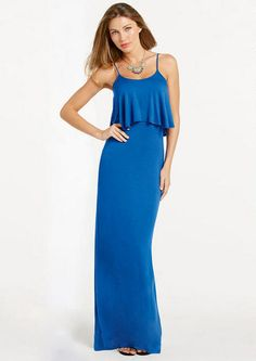 Jayne Knit Maxi Dress Extended Length - Dresses - Tall Shop - Alloy Apparel  IT COMES IN LONG!!!! $22