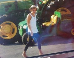 He looks like an older version of Tom Sawyer. Or we could just call him Farmer Styles haha
