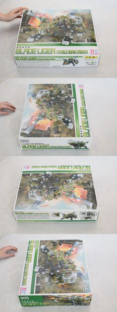 Other Models and Kits 774: Rare Bt Zoids Hmm Blade Liger 005 Double Beam Cannon 1 72 Full Action Model Kit -> BUY IT NOW ONLY: $210 on eBay!