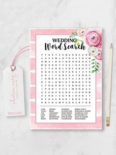 15 Printable Wedding Games That'll Entertain Guests of All Ages Wedding Groom, Wedding Engagement, Planning A Small Wedding, Bridesmaid Rings, Wedding Games, Wedding Fun, Wedding Ideas, Marriage Vows, Wedding Toasts