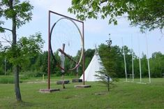 Giant Dream Catcher, Peace Pipe and Tipi Manitoulin Island, Ontario, Canada Giant Dream Catcher, Canada Pictures, Manitoulin Island, Discover Canada, Peace Pipe, Toronto Ontario Canada, Roadside Attractions, Native Art, Footprints