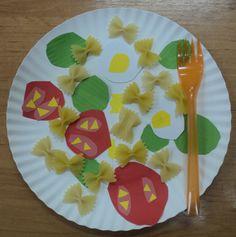 Zdravá strava - těstovinový salát se zeleninou Mojito, Healthy Eating, Education, Tableware, Food, School, Chefs, Health, To Draw