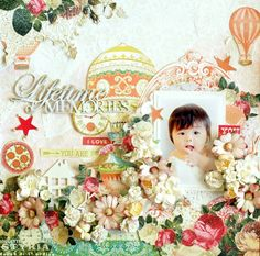 ♪ vol.1 using affordable price FLowers and SB Shop Palette DT Layout ~ Websters: Happy smile ♪