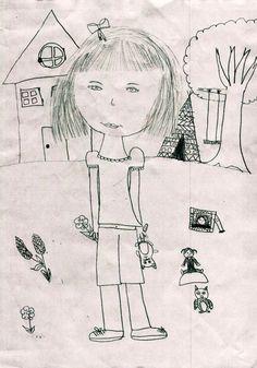 la little gallery - dessin de Rose, 9 ans, pour le concours du plus beau dessin d'enfant