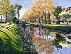 Victor Richardson - Into the Light Grand Canal Dublin