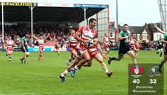 MATCH ACTION: Jonny May finishes off one of Kingsholm's finest ever scores! #GLOSvCONN