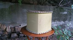 Vintage Rembrandt Square Lamp Shade for Torchiere Lamp by GladStoneatHome on Etsy