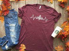 Bad Habit Boutique - My Life Line is Coffee | Bad Habit Boutique, $26.00 (http://www.shopbhb.com/my-life-line-is-coffee-bad-habit-boutique/)