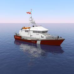 (Robert Allan Ltd./Canadian Coast Guard) Fisheries and Oceans Canada