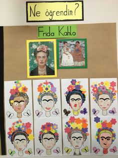 Artists For Kids, Art For Kids, Frida Art, 2nd Grade Art, Art Lessons Elementary, Art For Art Sake, Preschool Art, Art Classroom, Painting For Kids