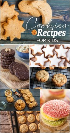 17 Simple #Cookie #Recipes For #Kids : You think of them when you think of snacking in the afternoon or even in the middle of the night. They are almost always stored in old-fashioned jars that children try to break into.