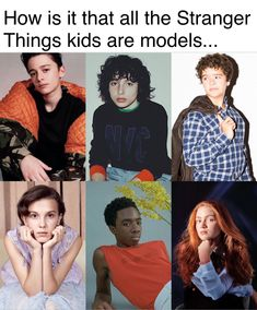 Because they& all beautiful, inside and out. Stranger Things Actors, Stranger Things Have Happened, Stranger Things Funny, Stranger Things Season, Saints Memes, Stranger Danger, Don T Lie, Best Shows Ever, Really Funny