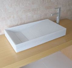 free standing wash basin material:nearly pure marble with translucent crystal structure inside Timeless Classic, Basin, Mattress, Living Spaces, Marble, Pure Products, Furniture, Bed, Bathrooms