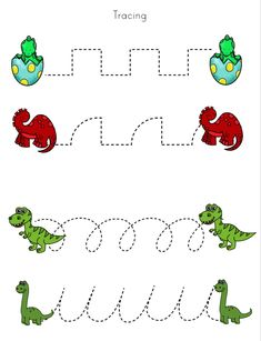 Dinosaurs Preschool, Dinosaur Activities, Preschool Writing, Preschool Learning Activities, Preschool At Home, Preschool Curriculum, Kids Learning, Kindergarten Math Worksheets, Preschool Kindergarten