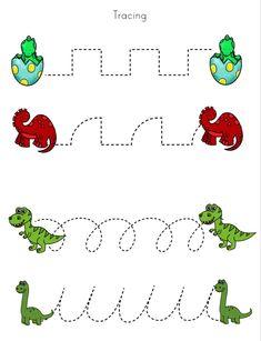 Preschool Learning Activities, Preschool At Home, Preschool Curriculum, Preschool Kindergarten, Kids Learning, Dinosaurs Preschool, Preschool Writing, Kids Math Worksheets, Teaching