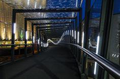 Cabot Circus Footbridge | iLight Technologies