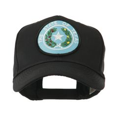 Mid State Seal Embroidered Patch Cap - Texas