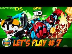Ben 10 Protector of Earth NDS Lets Play #7 - Redwood Forest