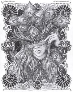 "Masquerade -All is Vanity"" by Adele Lorienne"