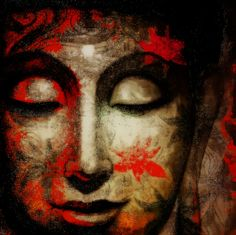 """If you are distressed by anything external, the pain is not due to the thing itself, but to your estimate of it; and this you have the power to revoke at any moment."" ~ Marcus Aurelius ॐ lis Buddha Face, Buddha Zen, Gautama Buddha, Buddha Buddhism, Buddha Sculpture, Buddha Painting, Thai Art, Zen Meditation, Red Art"