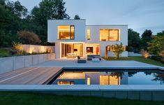 Berschneider + Berschneider, Architekten BDA + Innenarchitekten, Neumarkt: Wohnhaus W (2011), Hersbruck Future House, My House, Home Fashion, Exterior Design, Luxury Homes, Beautiful Homes, New Homes, Construction, House Design