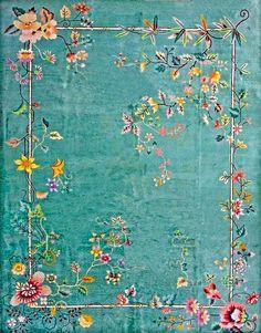 Chinese Art Deco carpet, ca.1930.