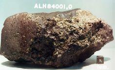 Image of mars meteorite alh84001