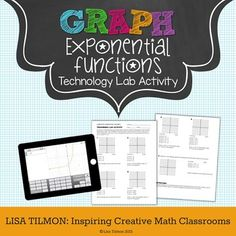 (CCSS: HSF-IF.C.7e) This Graphing Exponential Functions with Transformations lab activity is designed to be used with technology to investigate the parts of the general equation for exponential functions. Through inquiry, students will observe the effects of a, b, h, and k on the graphs of exponential functions.