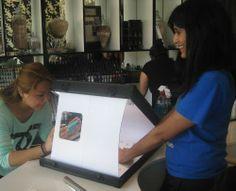 Chi Nail Bar's Photo Light Box