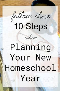 10 Easy Steps to Planning a New School Year for your homeschool Lesson Plan Binder, Goals Sheet, School Timetable, Orange Book, Rainbow Resource, Basic Math, Easy Day, Math Facts, New School Year