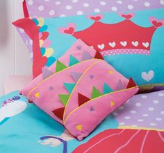 cubby-house-kids-tabitha-tightrope-filled-cushion Cubby Houses, Quilt Cover Sets, Cubbies, Dinosaur Stuffed Animal, Cushions, Throw Pillows, Quilts, Kids, Young Children