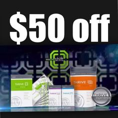 I am personally offering $50 OFF to the next two NEW customers who are ready to take on the 8 week Thrive experience!!! Don't miss out! Fmullen.le-vel.com