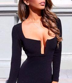 Alisha Black Dress – Catwalk Connection