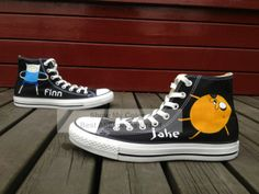 Black Cartoon Shoes Adventure Time Finn Jake Hand Painted High Top Canvas Sneakers $65.99 Cartoon Shoes, Finn Jake, Adventure Time Finn, Black Cartoon, Canvas Sneakers, Types Of Shoes, Converse Chuck Taylor, Birthday Ideas, High Tops