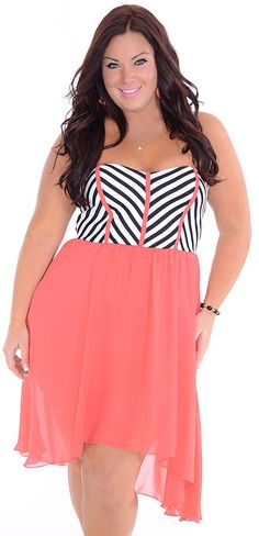Breeze Through (Plus)-Great Glam is the web's best sexy plus size online store clothing website for 1X 2X and 3X clothes for women and juniors.